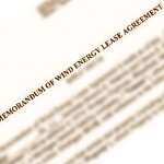 wind lease agreement image